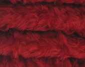 Quality 785S/C - Mohair - 1/4 yard (Fat) in Intercal's Color 5117-Ruby Red. A German Mohair Fur Fabric for Teddy Bear Making, Arts & Crafts
