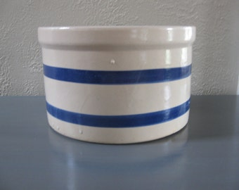 Cobalt and White Crock