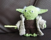 Items similar to Crochet Yoda Amigurumi on Etsy