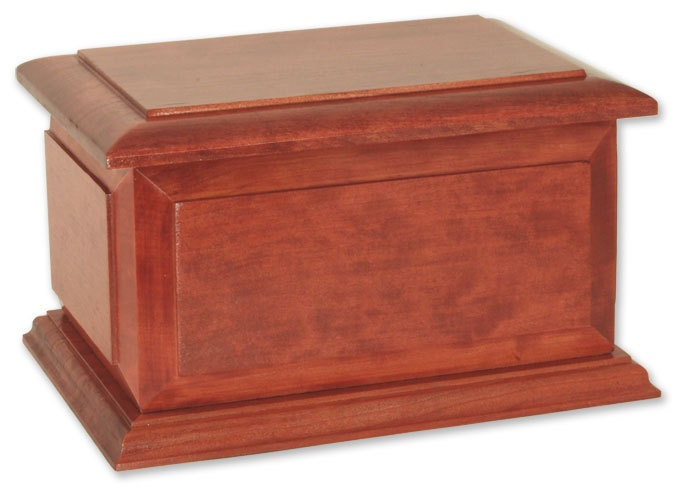 Boston Cherry Companion Wood Cremation Urn