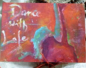 "Postcard ART ""Dance for Life"""