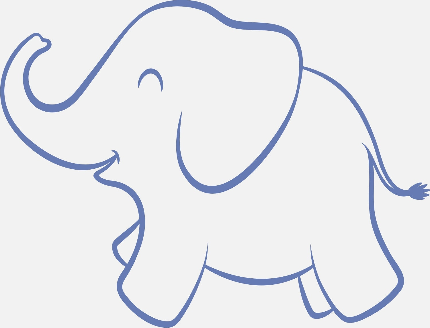 Sly image with regard to printable elephant template