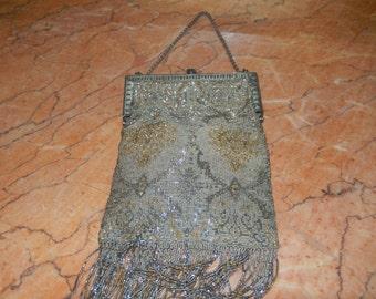 Victorian Beaded Handbag
