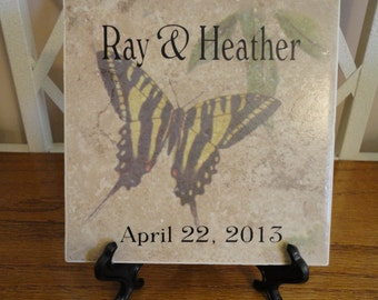 Personalized WeddingTile. Create Your Own Design.