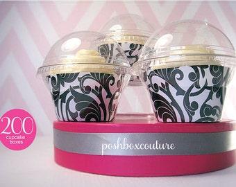 Wedding Favor Cupcake Boxes set of 200