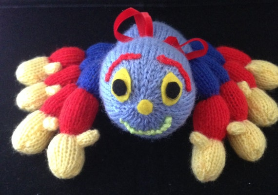 Knitting Pattern For Woolly The Spider : Woolly the spider