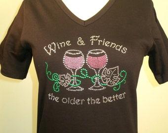 Rhinestone - Wine & Friends, the older the better