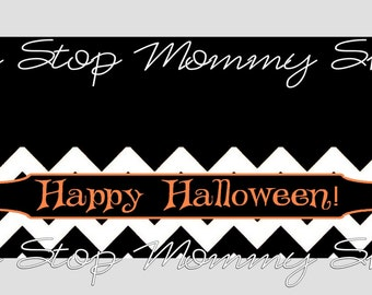 Printable Halloween Bag Topper File