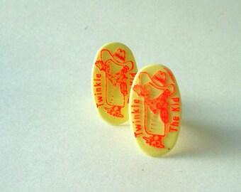 Vintage Twinkie The Kid Plastic Adjustable Ring