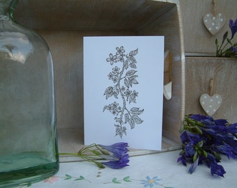 Enchanted Greetings Cards - Trailing Blossom
