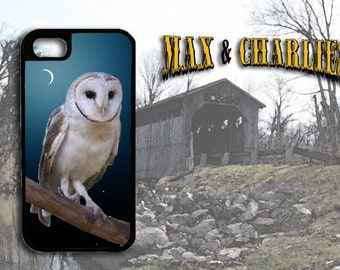 Barn Owl  iPhone 6/5/5c/4 Case -Samsung Galaxy S3/S4/S5 Case-Phone Cover