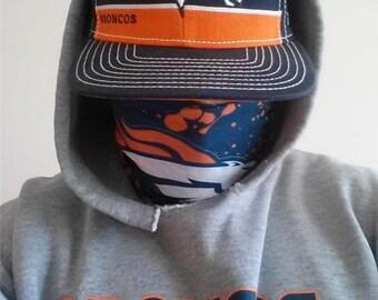 Denver Broncos Multi Function Tube Bandana Face Mask