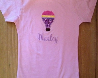 Hot Air Balloon Shirt or Baby Bodysuit