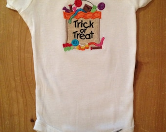 Trick or Treat Shirt or Baby Bodysuit
