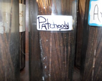 Patchouly Incense; now in a variety of packages *handmade dank scent*