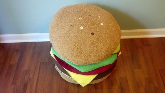 Burger Pillow (Four)