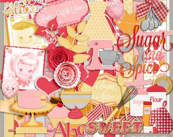 Made With Love Digital Scrapbooking Kit
