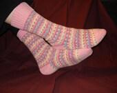 Knit by the Dozen Toe-up Socks Pattern PDF