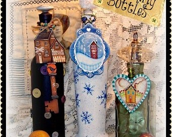 Charming Bottles By Martha Smalley,  Painting With Friends E Pattern