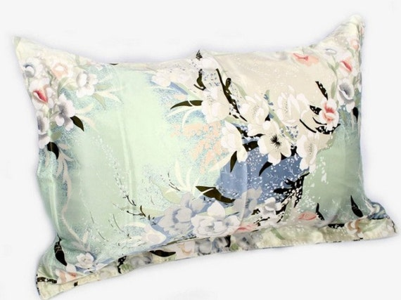 1pc 100 Mulberry Silk Printed Pillowcase Pillow Case