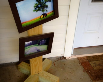 Outdoor Picture Frames with Stand