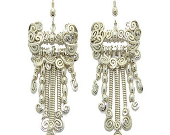 Handmade Earrings Wire Wrapped Earrings Sterling Silver Earrings Jewelry Dangle Earrings Drop Earrings Jewelry Wire Wrap Jewelry Earrings