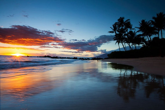 https://www.etsy.com/listing/159766580/sunset-and-beach-in-hawaii-landscape