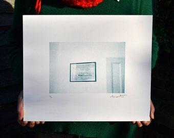 Boat // Risograph Print