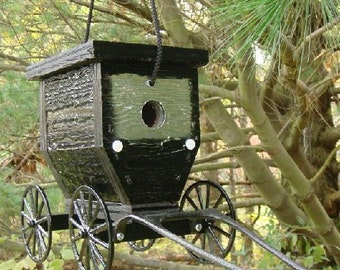 Amish Crafted Buggy Bird House