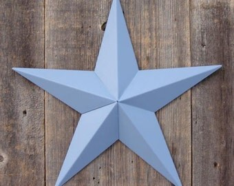 16 Inch Painted Galvanized Heavy Duty Metal Amish Tin Barn Star