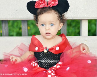 Minnie Mouse Inspired Dress!