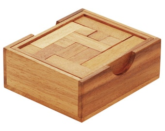 Cube Quest Wooden Puzzle