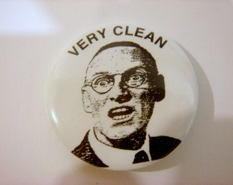 "Beatles ""Very Clean"" Button featuring Paul's Grandfather! A Hard Day's Night"