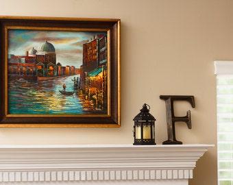 Venice -- Original Oil Painting on Canvas -- 20 x 24