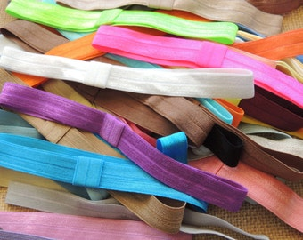 20 Wholesale Interchangeable Headbands for baby, kids and adults (FOE) Variety Only