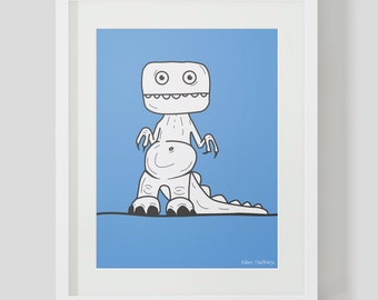 Dino collection print 1 - OAP REX