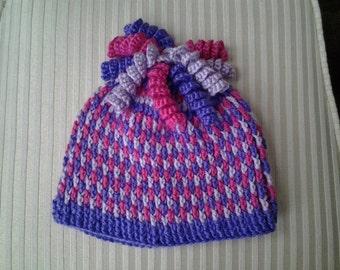 Crochet Gum Drop Hat