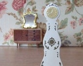 "Dollhouse miniature ""Mora Clocka""// Swedish miniature clock //"