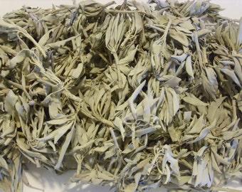 California White Sage Smudge Loose Cluster Incense Bulk (1 Pound)