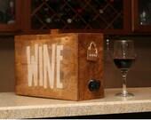 Wine barrel wedding reception wine decanter gift decoration party wine bag