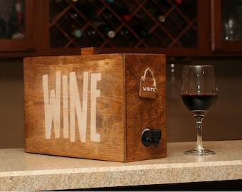 Boxed wine cover wine decanter wine dispenser barrel wine box cover