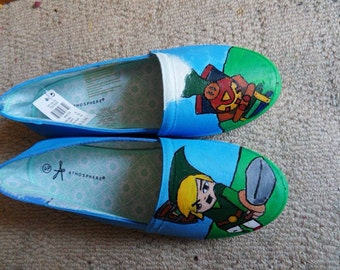 Legend of zelda spirit tracks ballet pumps