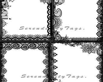Lace Border overlays 2