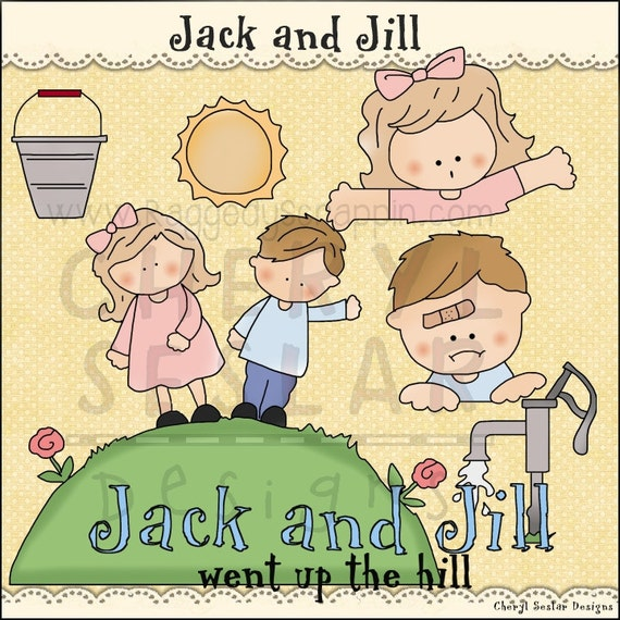 Gallery For Jack And Jill Clipart