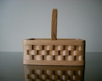 Scroll Saw Basket with Handle