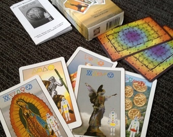 The first somatic (of the body) Tarot Deck - includes User Guide with body-mind practices