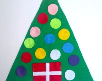 Felt Christmas Tree, Felt Board, Flannel Board, Busy Board, Felt Board Christmas Tree, Felt Christmas, Toddler Christmas Tree, Felt Tree