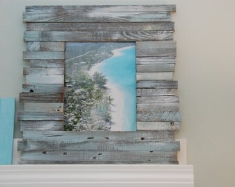 Reclaimed 8x10 beach picture frame- for Tina Andrews
