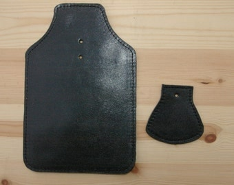 Leather Mud Flap Set for Brompton Bicycles