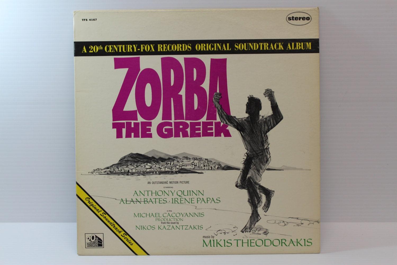 Zorba The Greek Vintage Vinyl Album 20th Century Fox